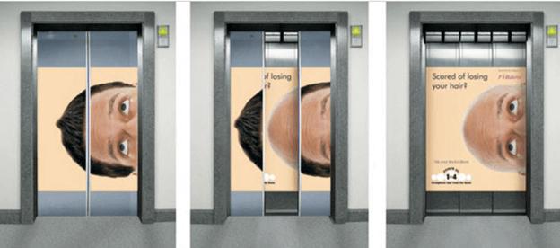 Брендирование лифта – партизанский маркетинг