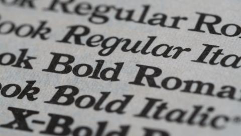 Типографика в веб дизайне. Основные понятия и правила